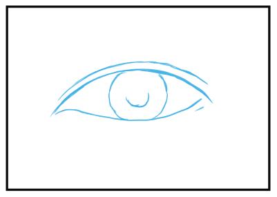 目の描き方 漫画イラストの人物キャラクター描画 Tips