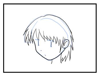 右向きの顔が不自然に見える 利き手側を向いた顔の描画 漫画