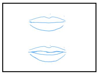 口の描き方 漫画イラストの人物キャラクター描画 Tips