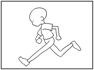動きのあるポーズの描き方 漫画イラストの人物キャラクター描画 Tips
